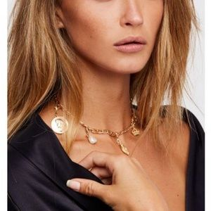 Free People Mix n Match Charm Necklace